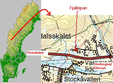 ripfjället karta Hyr stuga på Vemdalsskalet / Ripfjället i Vemdalsfjällen vid  ripfjället karta
